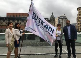 La Bandera Euskadi Basque Country quiere inundar Sevilla