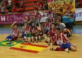 El Atlético se lleva la Copa ante el Burela en penaltis