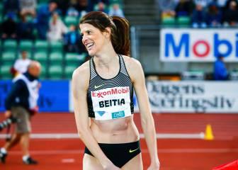 Ruth Beitia salta en Estocolmo para seguir su racha nórdica