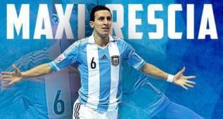 El Santa Coloma se hace con la estrella argentina Maxi Rescia