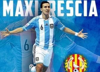 El Santa Coloma ficha a Maxi Rescia, estrella argentina