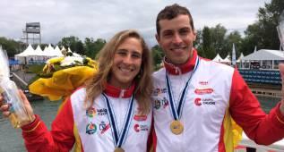 Samuel Hernanz y Nuria Vilarrubla, oro y bronce