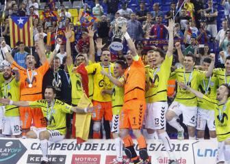 El Movistar gana su 11ª Liga ante el Barcelona en el Palau