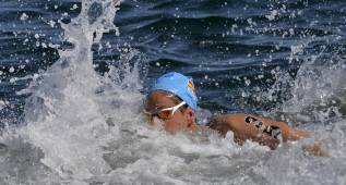 Erika Villaécija gana los 5 kilómetros contrarreloj