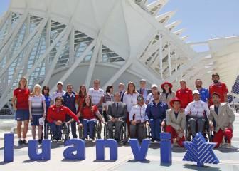 Luanvi presenta la equipación de España en los Paralímpicos