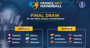 España ya tiene rivales para el Mundial de Francia 2017