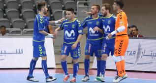 Los goles de Darlan y Borja le dan la victoria al Movistar