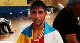 Samuel Carmona se queda con la plata sin pelear en la final