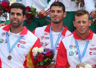 El K4 500 m da a España su primera medalla en Moscú