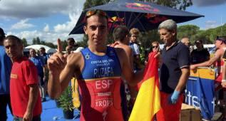 Rubén Ruzafa, campeón de Europa de triatlón cross