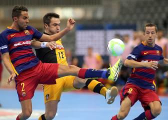 Falcao deja al Barça sin final: acaba la 'era Carmona'