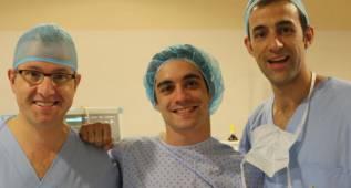 Javi Fernández, operado del pubis en su fase de descanso