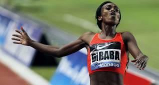 Genzebe Dibaba compite en los 5.000 metros de Barcelona