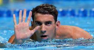 Michael Phelps, los quintos Juegos para el hombre-récord