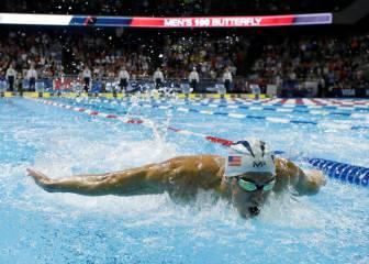 Un Phelps inconformista hace pleno: tres de tres en Omaha