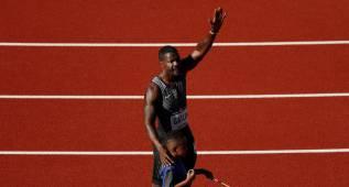 Justin Gatlin se impone en los 100 metros de los Trials
