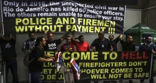 Policías protestan y advierten sobre falta de seguridad