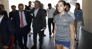"""Carolina Marín: """"Sólo tengo un objetivo, el oro en Río"""""""