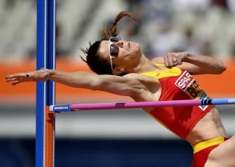 Ruth Beitia salta por su tercer oro europeo consecutivo
