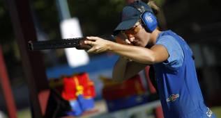 Fátima Gálvez se cuelga el bronce en foso olímpico