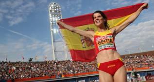 Ruth Beitia gana el tercer oro europeo consecutivo: es mágica