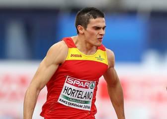 Bruno Hortelano hace historia: cuarto europeo de 100 metros