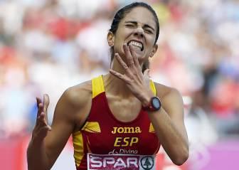 Diana Martín, bronce en 2014, repite final de obstáculos