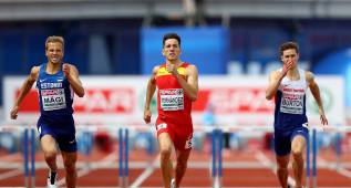 Sergio Fernández gana la plata en los 400 mv con 49.06