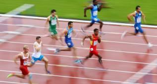 Contreras acaba séptimo en la final de 110 metros vallas