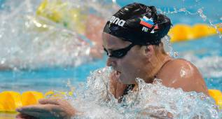 Vitalina Simonova, suspendida cuatro años tras dar positivo
