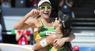 Las brasileñas Larissa y Talita, campeonas en Gstaad
