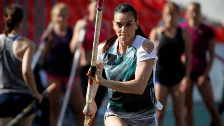 Isinbayeva deja abierta la posibilidad de ir a Tokio 2020