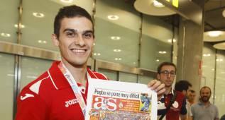 """Hortelano: """"Si Bolt está a mi lado en Río, intentaré ganarle"""""""