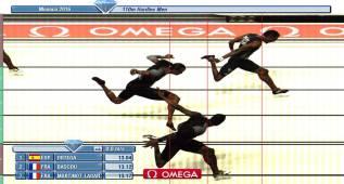 Orlando Ortega bate su récord de España de 110 vallas: 13.04