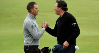 Stenson y Mickelson, duelo de colosos por el British Open