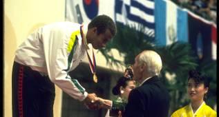 Nesty fue el primer campeón olímpico negro en natación