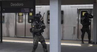 Brasil hace un simulacro de atentado previo a los JJOO