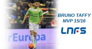 Bruno Taffy le quita a Ricardinho el MVP de la LNFS