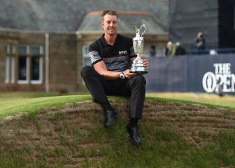 Stenson gana el British Open y da el primer 'major' a Suecia