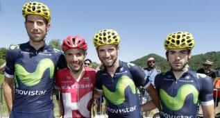 Valverde, Purito, Ion Izagirre, Erviti y Castroviejo, a Río