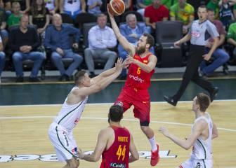 España no resiste a Lituania y cae en la prórroga de Kaunas