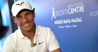"Rafa Nadal: ""Espero poder llegar a Río bien preparado"""