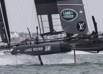 El 'Land Rover BAR' ingles marca la revolución en la vela