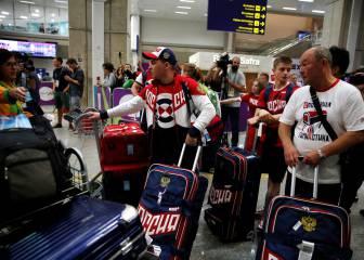 Empieza la criba rusa: 7 nadadores y 3 remeros