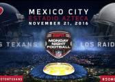 ¿Cuánto cuesta asistir al 'Monday Night' de la NFL en México?