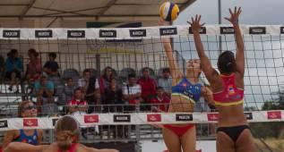 Los 'olímpicos' cambian el podio del Madison Beach Voley