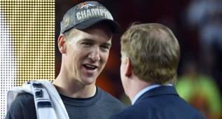 Para Goodell, hay niveles entre Brady y Peyton Manning