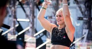 Los atletas más en forma del planeta: Davidsdottir y Fraser