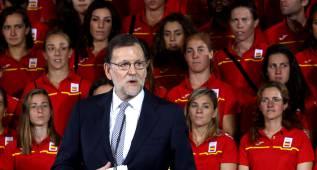 """Rajoy: """"Esperamos muchas medallas y muchos diplomas"""""""