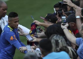 Un fan de Neymar, detenido por entrar en el hotel de Brasil